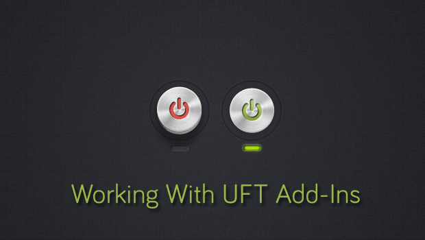 Working With UFT add ins