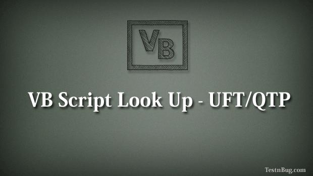 Vb script in applications