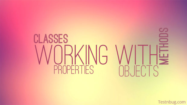 Objects Methods Classes in UFT QTP