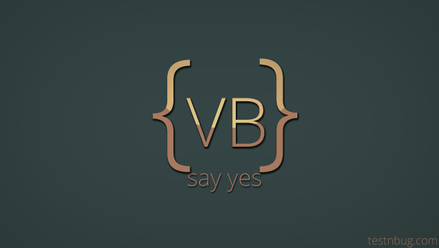 VB Script Introduction