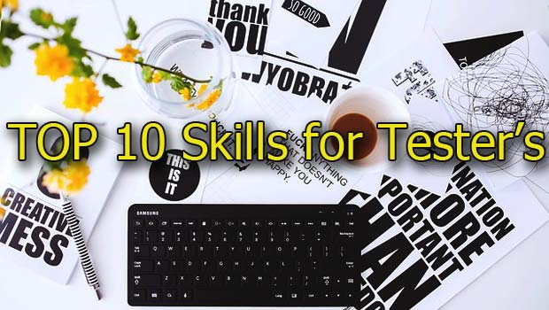 Top-Skills of testers's