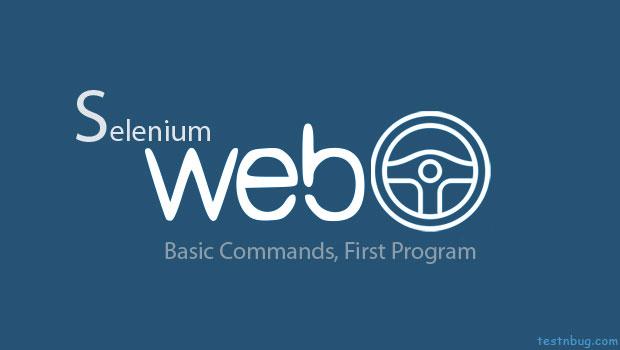 Selenium Webdriver basics